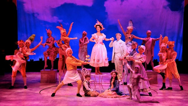 """The cast of """"Mary Poppins"""" performs Jolly Holiday."""