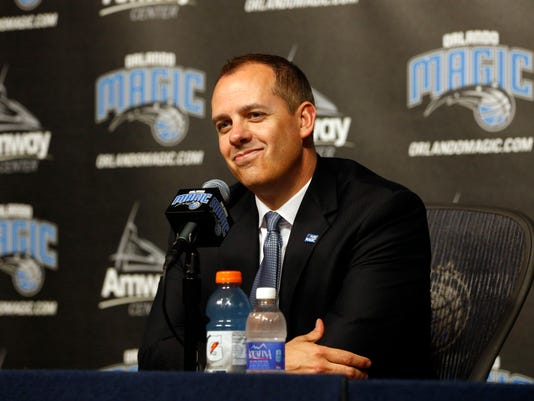 NBA: Orlando Magic-Press Conference