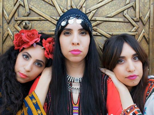 A-WA, a band of three sisters who mix Yemenite folk
