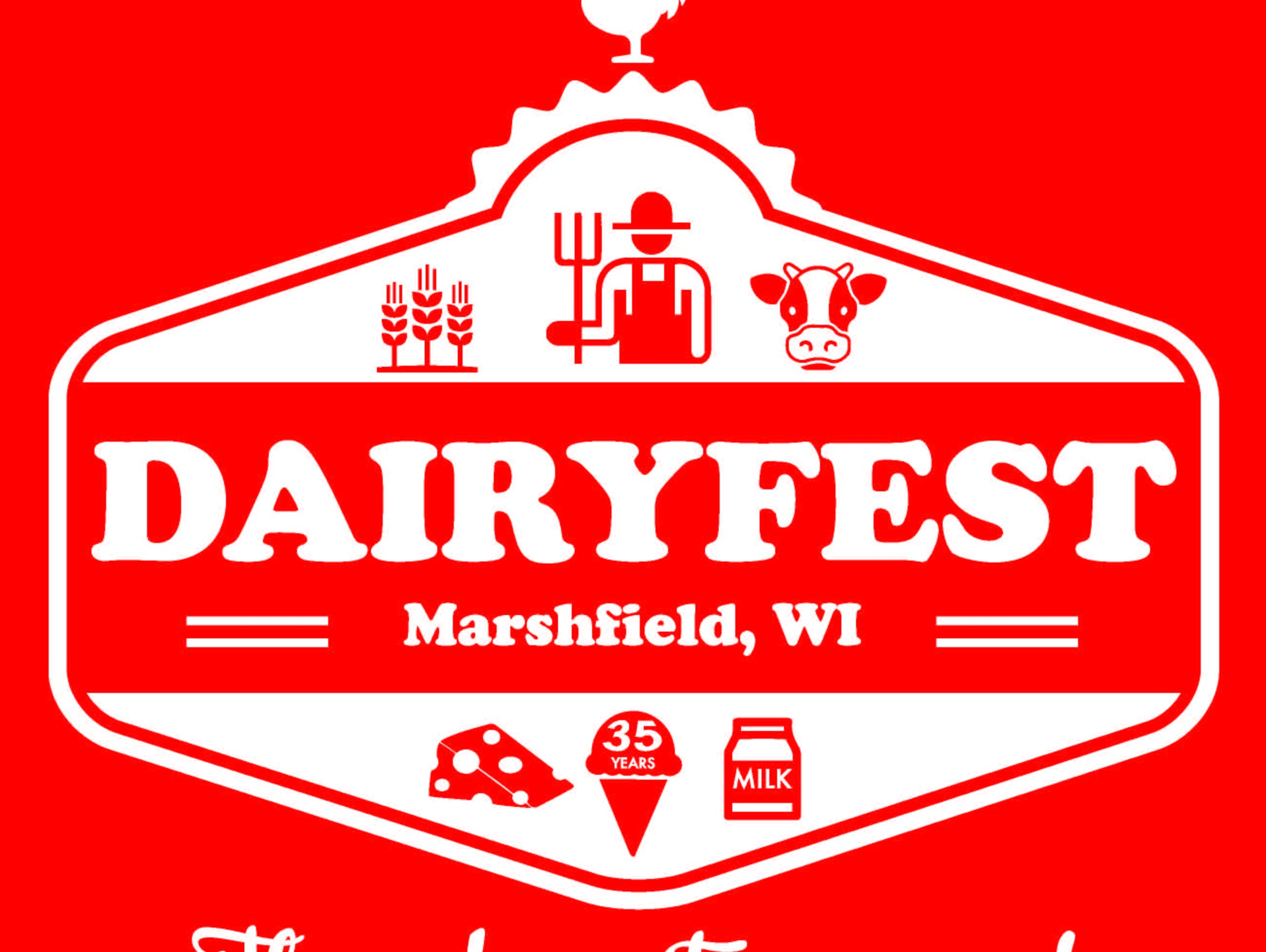 Logo for this year's Dairyfest.