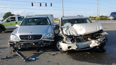 A Mercedes and a BMW were struck by a Jeep Cherokee in a crash that killed the driver of the BMW on Sunday in Middletown.