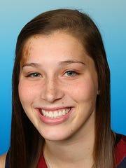 Fairleigh Dickinson basketball player Maddie Comly (Delone Catholic)