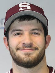 Swarthmore baseball player Roy Walker (Central York)