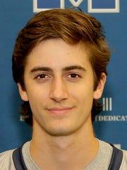 Moravian lacrosse player Dominick Gurreri (Dallastown)