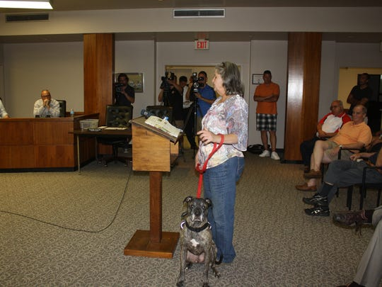 A pit bull in council chambers