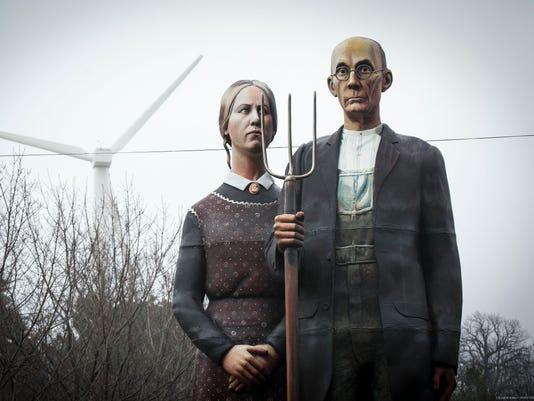 AP American Gothic State Fair