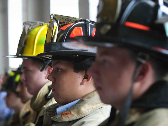 "In 2014, the Delaware Academy of Public Safety and Security hosted a ""Voices of 9-11"" event as students recite lines written by survivors of the attacks and families of those killed. On Tuesday, the school abruptly announced it was closing."