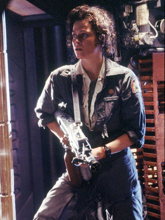 Weaver in 'Alien'