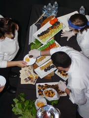 Sweets and pastries were part of the buffet at the 2015 Vine & Dine.