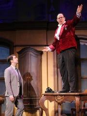 Richard Lafleur as Bloom and David Johnson as Bialystock