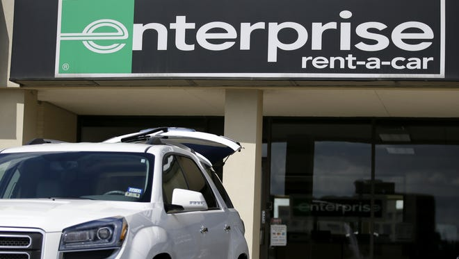Enterprise and other rental car companies are continuing to grow despite competition from ride-hailing services such as Uber.