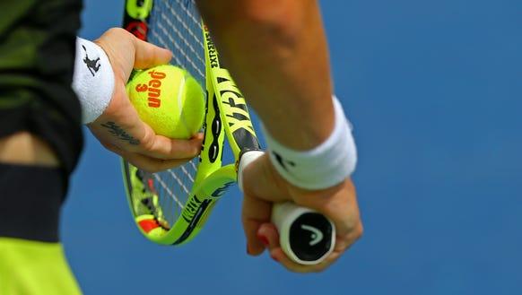 stock tennis image