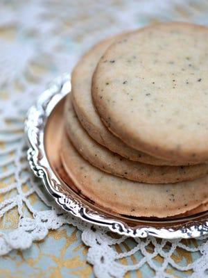 Earl Gray Shortbread cookies.