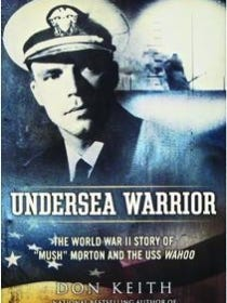"""""""Undersea Warrior"""" book jacket"""