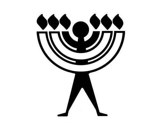 The logo for secular Judaism.