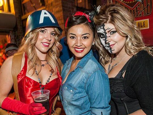 The Blood Brothers party takes place Oct. 31 in The Brew Brothers. Sexiest, best group and scariest costumes share $1,500. The cover is $10 and $5 for guests wearing a costume.