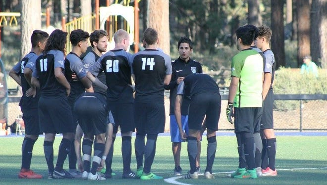 The Lake Tahoe CC men's  soccer team is ranked No. 12 in the nation.
