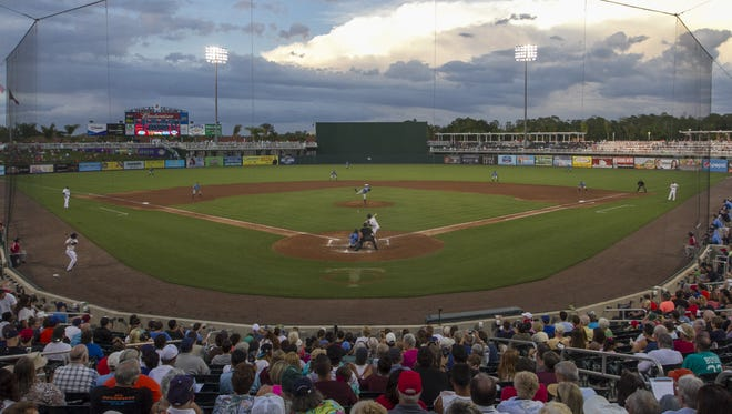A large crowd came out to see the Miracle take on the Charlotte Stone Crabs for opening night on Friday at Hammond Stadium.