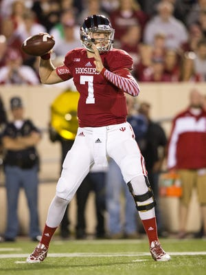 Indiana quarterback Nate Sudfeld.