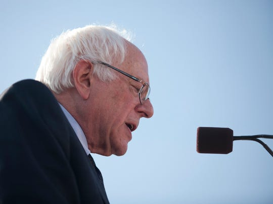 Bernie Sanders, Vermont's independent U.S. senator, kicks off his campaign for the Democratic presidential nomination in Burlington. He has been unable to shake super PACs that raise money to support him, despite his long opposition to such unlimited fundraising and spending.