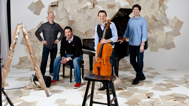 The Piano Guys will perform back-to-back shows Oct. 22-23 at the Tuacahn Amphitheatre in Ivins City.