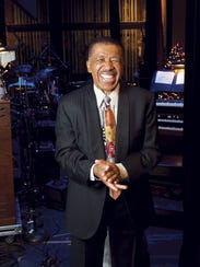 Singer Ben E. King; photographed in Englewood at Bergen