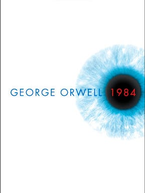 "This cover image released by Signet shows the latest cover image for George Orwell's ""1984.""  Movie theaters nationwide are programming with politics in mind. On Tuesday, nearly 200 art house cinemas will screen ""1984,"" the movie, based on Orwell's book."