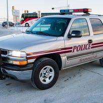 Menomonee Falls police vehicle.