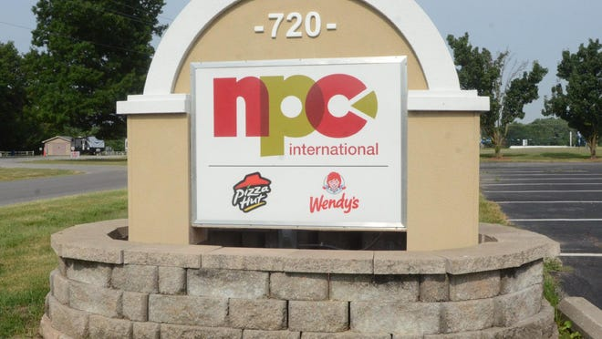 NPC International, which grew to become America's largest Pizza Hut franchisee from its original Pizza Hut location that opened in Pittsburg in 1962, filed for Chapter 11 bankruptcy last month. -- FILE PHOTO