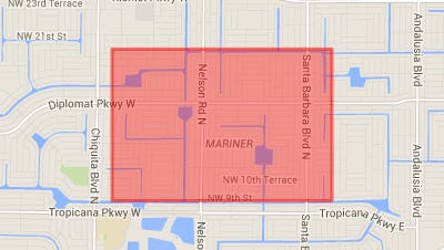 On April 1, police responded to a cluster of criminal mischief in the area north of Mariner High School, between Tropicana Parkway and Santa Barbara.