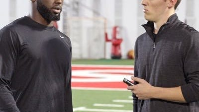 Ohio State beat writer Eric Seger of ElevenWarriors.com interviews Buckeyes quarterback J.T. Barrett.
