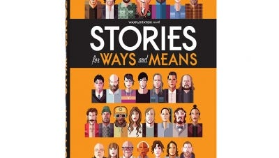 """Stories for Ways and Means""  teams songwriters and illustrators for a storybook that benefits education non-profits."