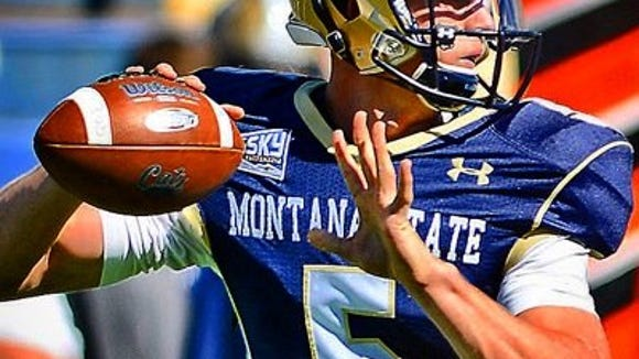 Montana State standout quarterback Dakota Prukop is questionable for Saturday against SDSU due to a knee injury.