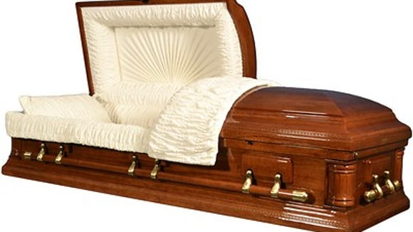 Caskets on sale at warehouse club