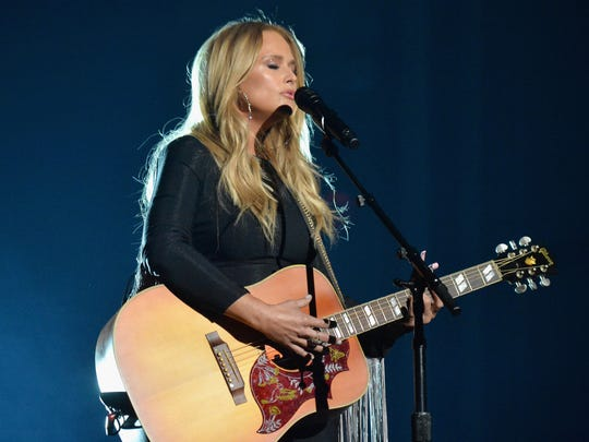 Miranda Lambert performs onstage at the 52nd Academy