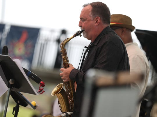 Fusion Beat plays for the Florida Jazz and Blues Festival
