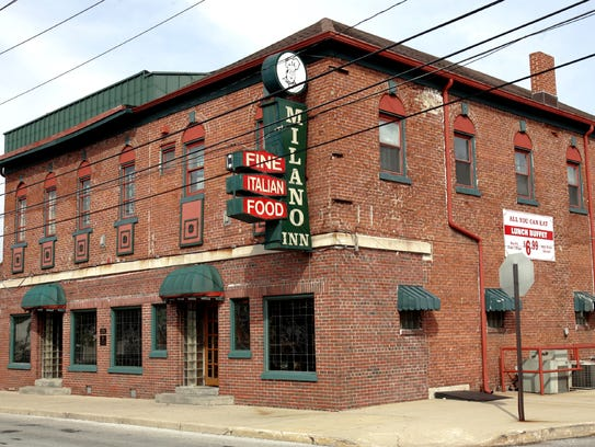 The Milano Inn, 231 S. College Ave., opened in 1934.