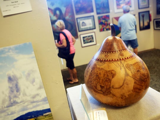 """The fine art, photography, calligraphy and poetry exhibits at the Oregon State Fair will relocate to the Arts Building. The remainder of the Creative Living exhibits and events will be in Columbia Hall. Pictured here, """"Too Soon Gone"""" by Reetsie Fuller won an award at last year's fair."""