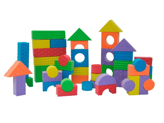 Toys that build kids 39 interest for Foam block homes