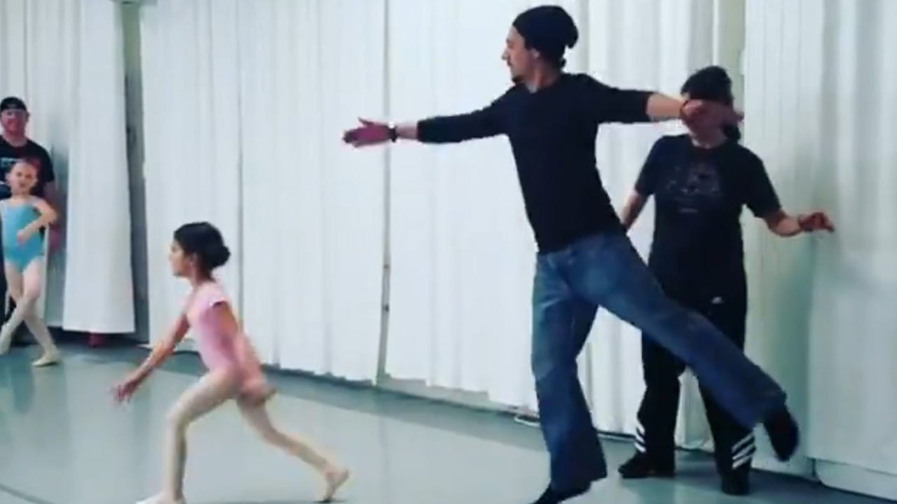 These dads have no shame in their ballet game