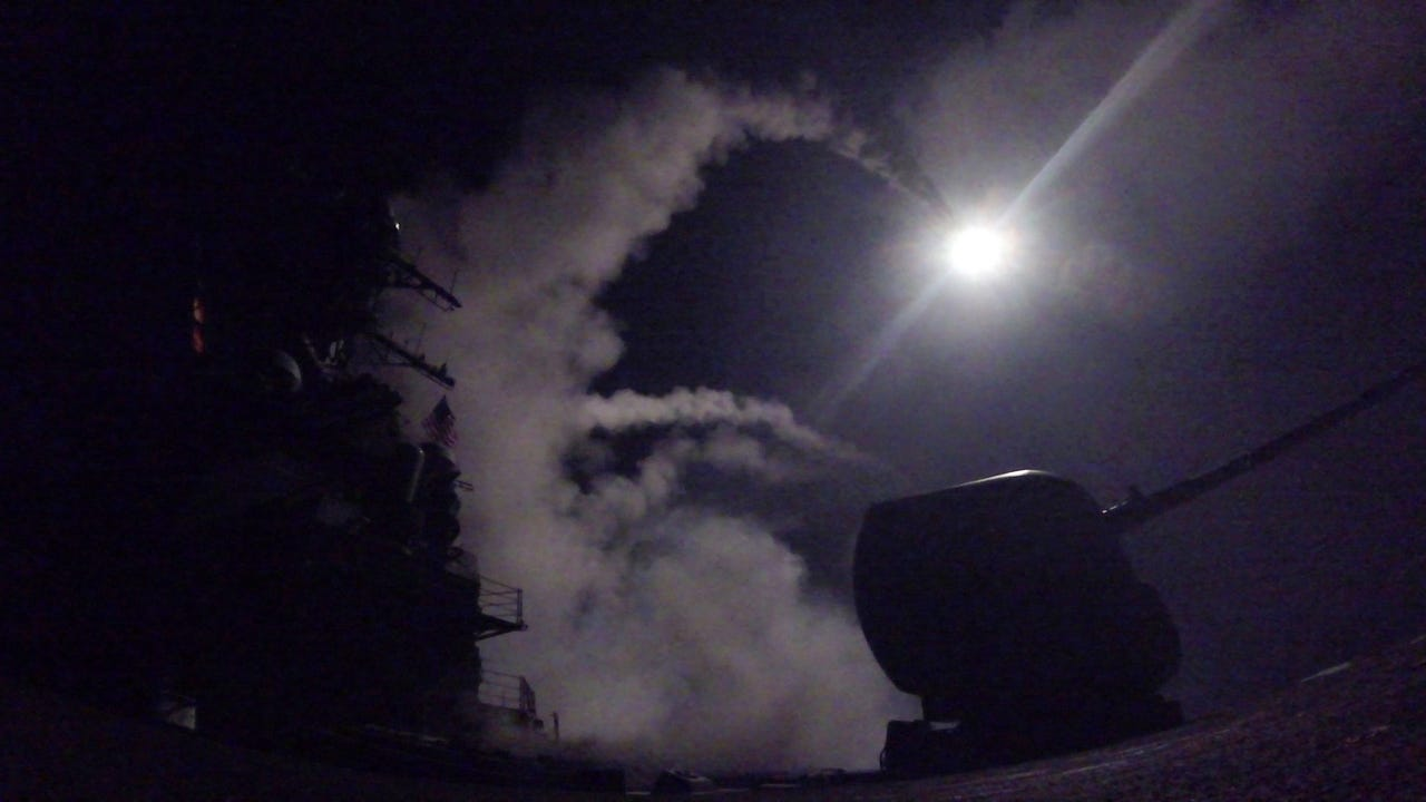 U.S. Syria missile strike could strain Russia ties