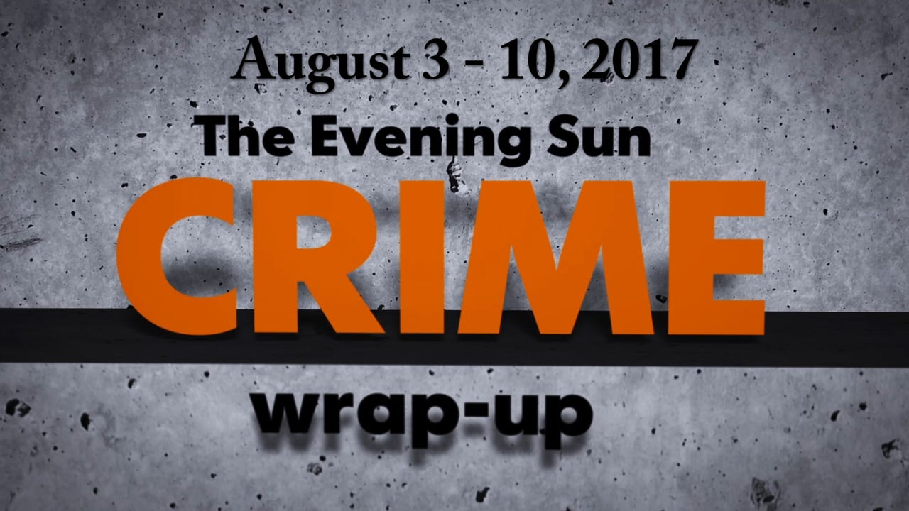 Watch: Crime-wrap up for August 3 - 10