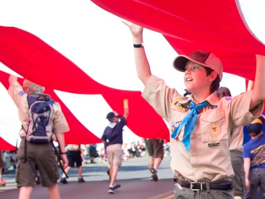 Scouts in Montana provided over 53,000 hours of service to communities across the state last year.