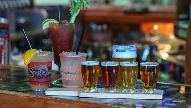 $3 happy hour at the Starboard from 4-8 p.m. Thursdays and Fridays (also Wednesday, Nov. 5).