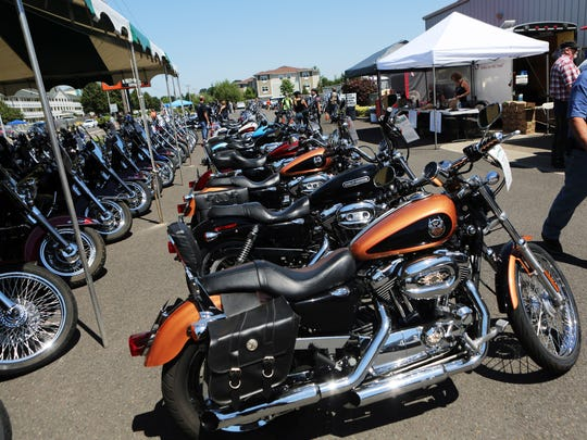 Bikes and beers are both celebrated during the Capital City Brewfest at Salem Harley-Davidson.
