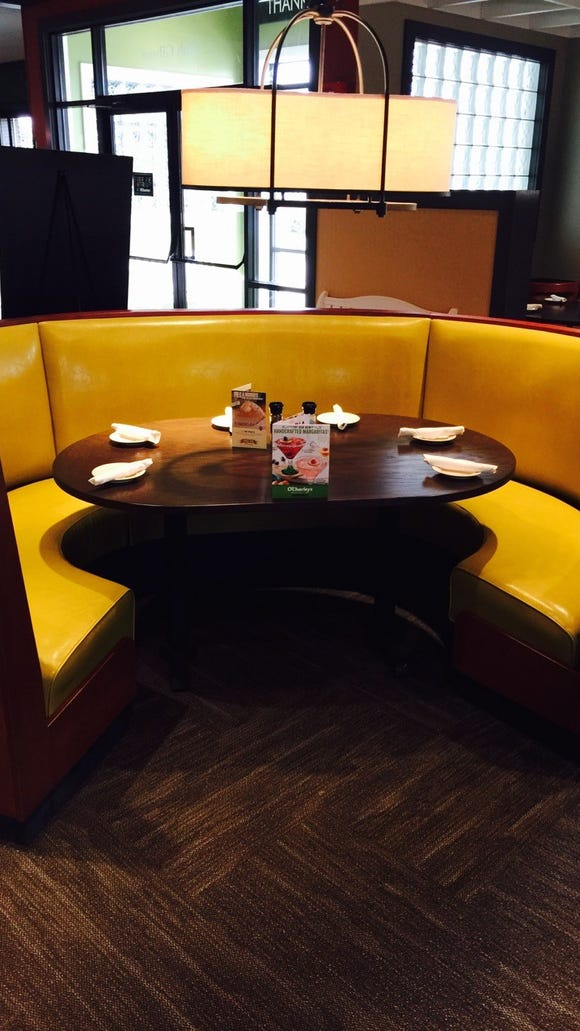 The Lafayette location of O'Charley's is going through a renovation. Pictured is the interior of a recently remodeled restaurant in Fort Wayne, Indiana.