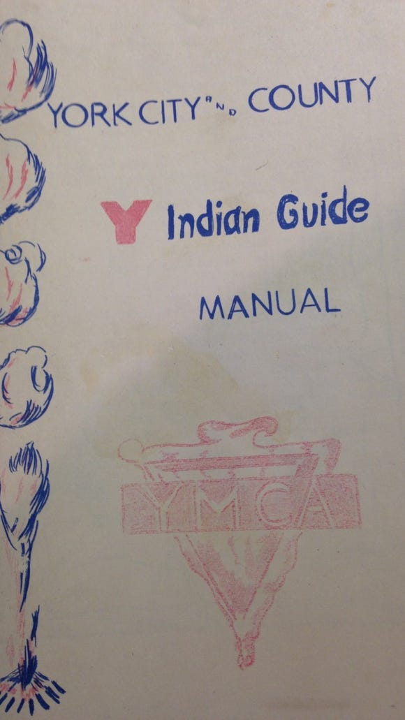 Red Lion Indian Guide members, young and old, used this manual as their guide for their meetings.
