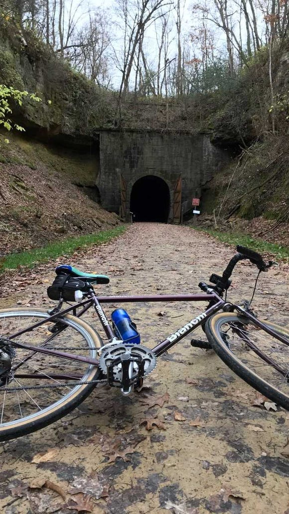 "The entrance to Tunnel 3 west of Norwalk looks like it could have been used as a set for the ""Lord of the Rings"" movies."