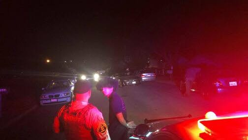 Monterey County Sheriff's deputies broke up a party of more than 100 teens at a vacant house in Prunedale. They said they also arrested two teens at scene.