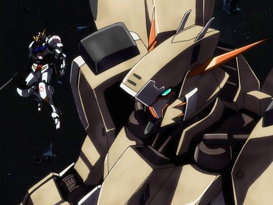 Gundam Iron-Blooded Orphans Episode 17 Gusion Rebake